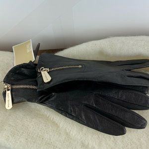NWT Michael Kors Genuine Leather Gloves